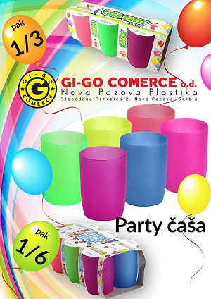 Gi-Go Comerce Čaša Party